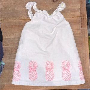 Janie and Jack Linen Pineapple top